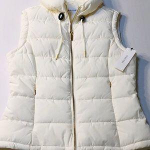 Calvin Klein Ivory Puffer Vest